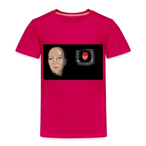 Digital heart - Premium T-skjorte for barn