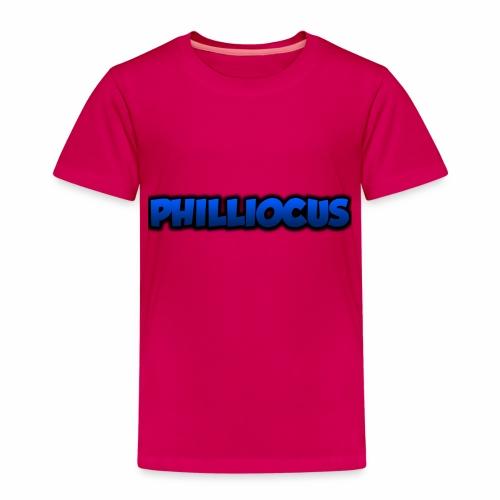 Philliocus Merch Tekst - Premium T-skjorte for barn