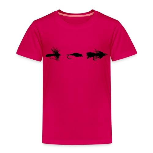 Fliegenfischen Fliegenmuster - Kinder Premium T-Shirt