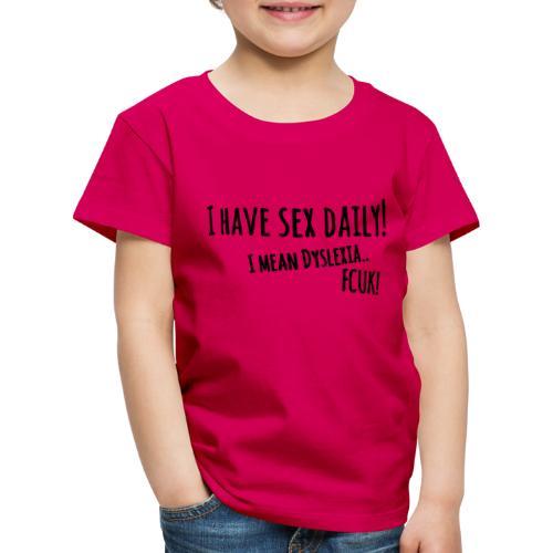 sexdaily - Kinderen Premium T-shirt