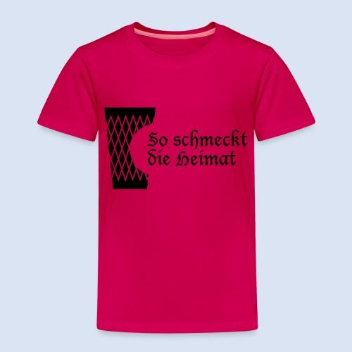 Geripptes mit Biss - Kinder Premium T-Shirt