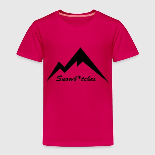 Mountains Logo (W) - Kids' Premium T-Shirt
