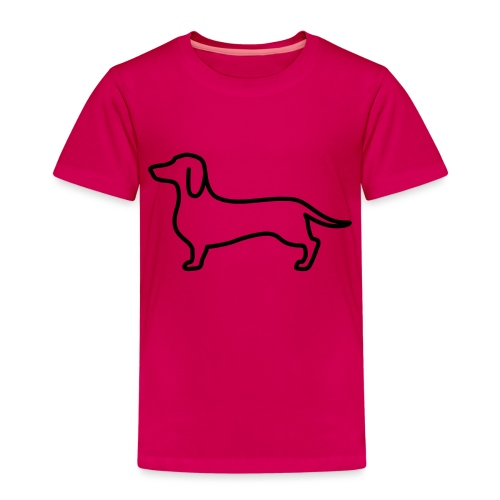 sausage dog - Kids' Premium T-Shirt