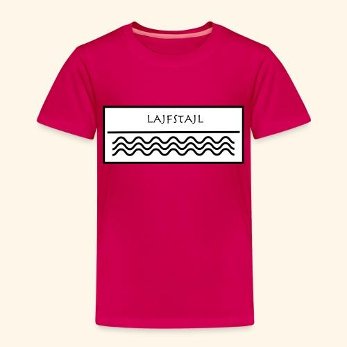 Lajfstajl is the new style - Premium-T-shirt barn