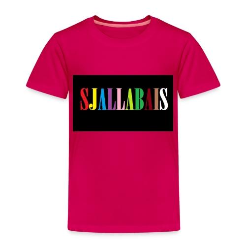 Sjallbais - Premium T-skjorte for barn