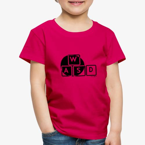 WASD Gaming is Life - Kids' Premium T-Shirt
