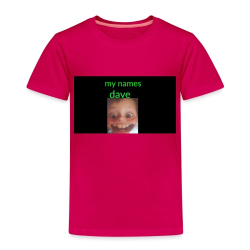Dave merchandise - Kids' Premium T-Shirt