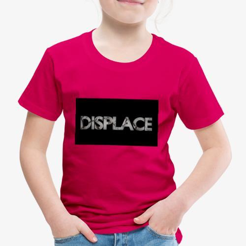Displace Cracked Black - Kinder Premium T-Shirt