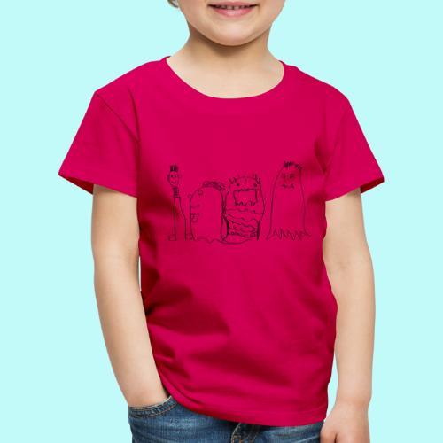 4 Geister - Kinder Premium T-Shirt