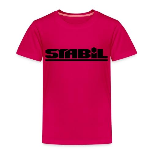 Stabilschrift - Kinder Premium T-Shirt