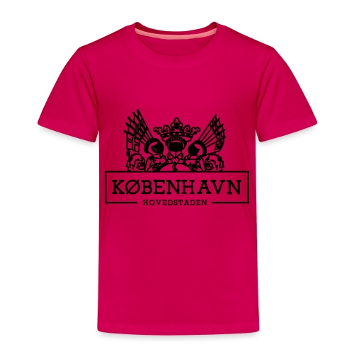 KØBENHAVN - Hovedstaden - Børne premium T-shirt