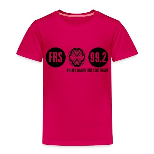 Logo FRS schwarz - Kinder Premium T-Shirt