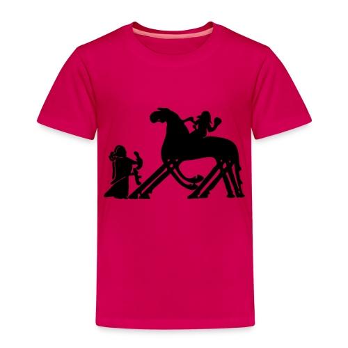 Til Valhall - Premium T-skjorte for barn
