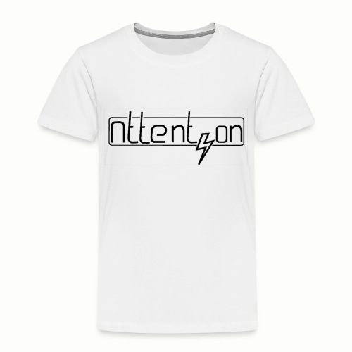 attention - Kinderen Premium T-shirt