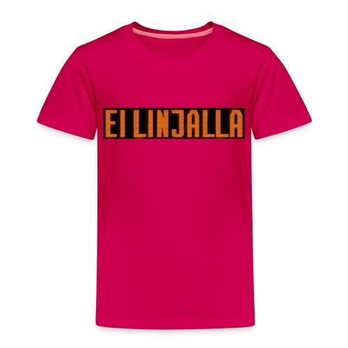 EI LINJALLA - Lasten premium t-paita
