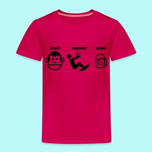 AVANT PENDANT APRES kitewindcorsica - T-shirt Premium Enfant