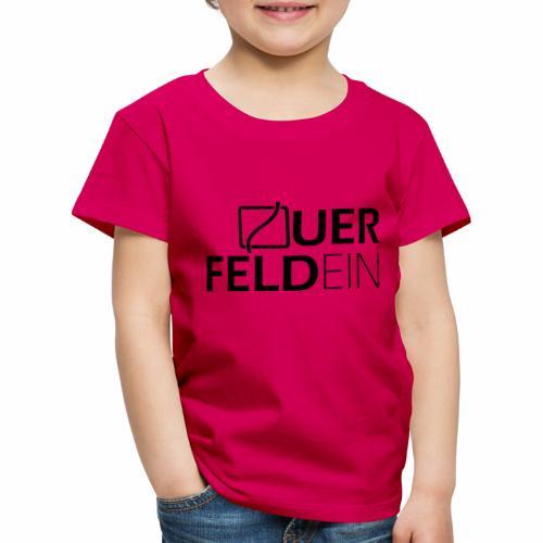 Querfeldein Logo - Kinder Premium T-Shirt