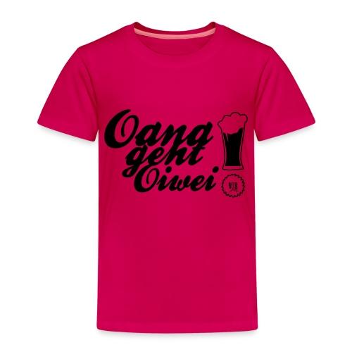 oana geht oiwei - Kinder Premium T-Shirt