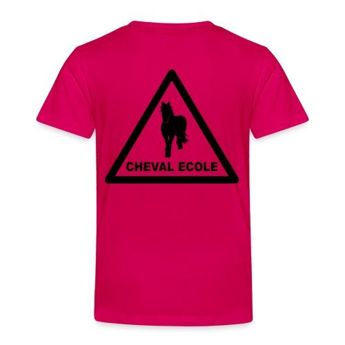 chevalecoletshirt - T-shirt Premium Enfant