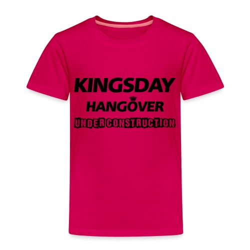 Kingsday Hangover (under construction) - Kinderen Premium T-shirt