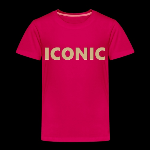 ICONIC [Cyber Glam Collection ] - T-shirt Premium Enfant