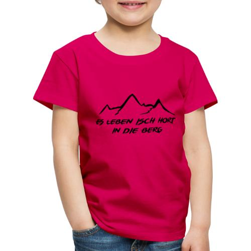 berge_small - Kinder Premium T-Shirt