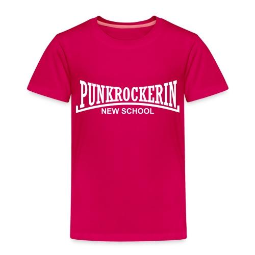 punkrockerin new school - Kinder Premium T-Shirt