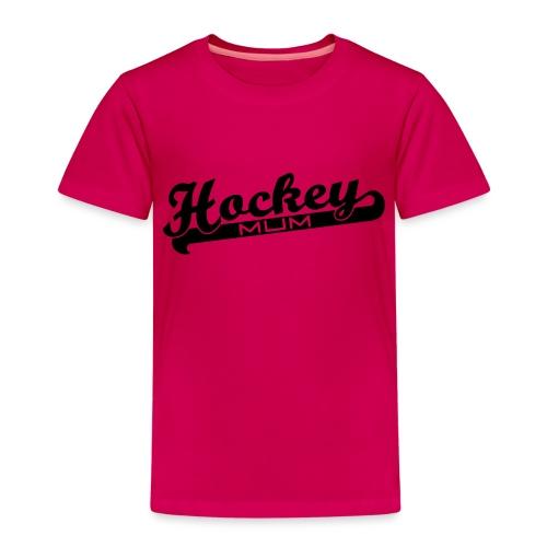 Hockey Mum Script - Kids' Premium T-Shirt