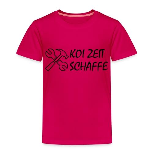 KoiZeit - Schaffe - Kinder Premium T-Shirt
