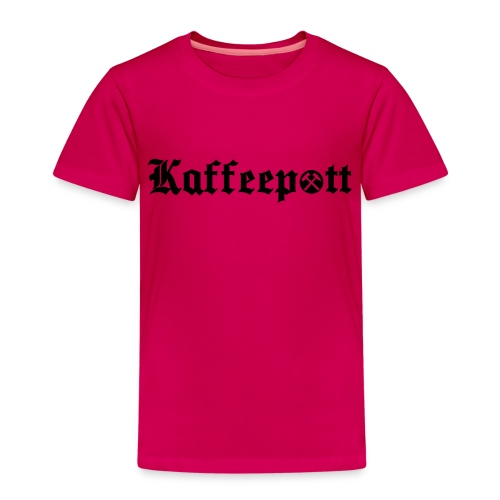 Ruhrpott_Kaffeepott - Kinder Premium T-Shirt
