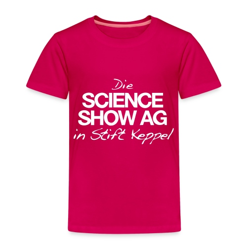 Das Science Show AG Logo - Kinder Premium T-Shirt