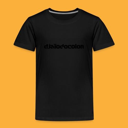 DJATODOCOLOR LOGO NEGRO - Camiseta premium niño