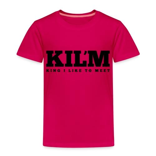 King I Like to Meet - Kinderen Premium T-shirt