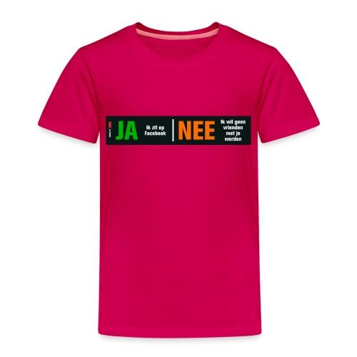 facebookvrienden - Kinderen Premium T-shirt
