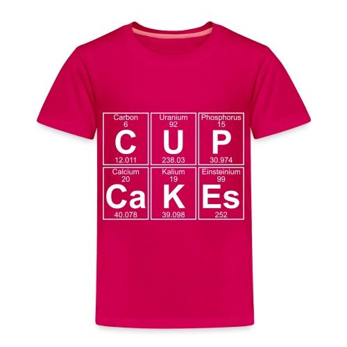 C-U-P-Ca-K-Es (cupcakes) - Full - Kids' Premium T-Shirt