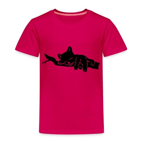 Sleeping Panther - Kinder Premium T-Shirt