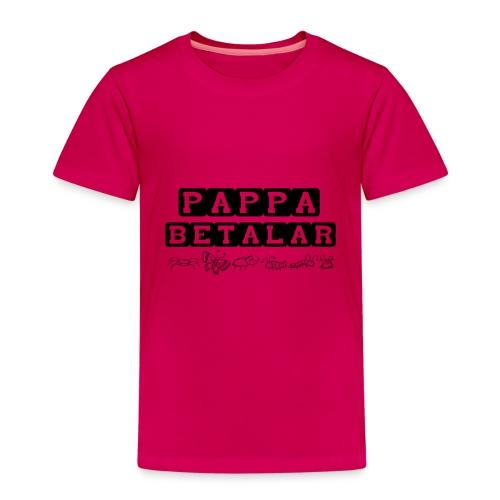pappa betalar - Premium-T-shirt barn