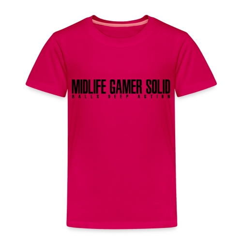 Midlife_Gamer_Solid_2 - Kids' Premium T-Shirt