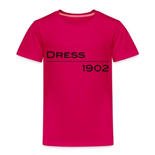 Dress1902 lineare - Maglietta Premium per bambini