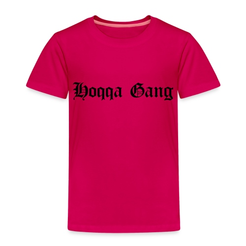 Schriftzug: Hoqqa Gang - Kinder Premium T-Shirt