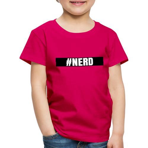 #NERD - Premium T-skjorte for barn