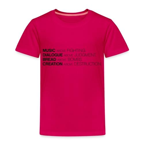 slogan png - Kinderen Premium T-shirt