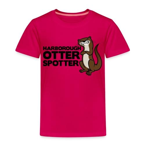 HarbOtterSpotter png - Kids' Premium T-Shirt