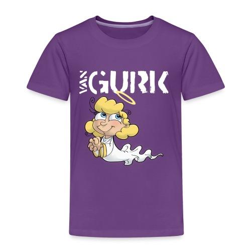 VAN GURK Engerl mit Logo WEISS - Kinder Premium T-Shirt