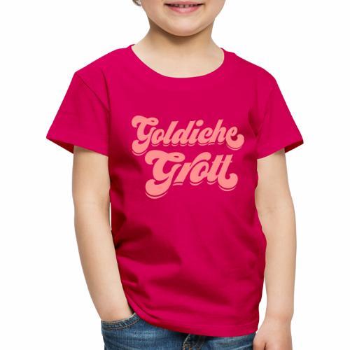 Goldiche Grott - Kinder Premium T-Shirt