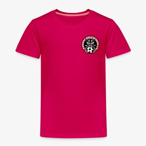 KICKERS HALSTENBEK LOGO png - Kinder Premium T-Shirt