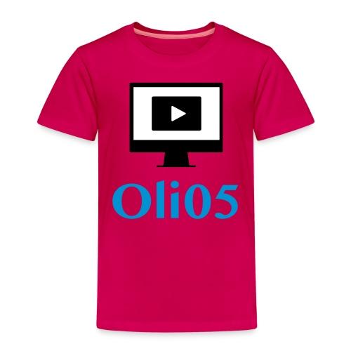 Oli05 Original logo - Premium T-skjorte for barn