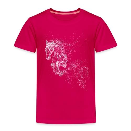 Vorschau: jumping horse white - Kinder Premium T-Shirt