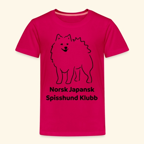 NJSK - Premium T-skjorte for barn