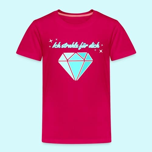 Diamant - ich starhle für dich - Kinder Premium T-Shirt